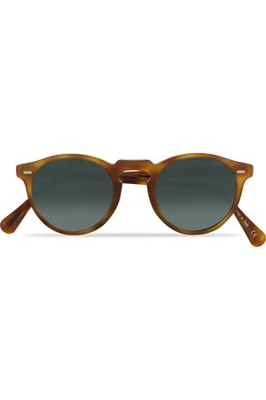 Oliver Peoples Gregory Peck Sunglasses Semi Matte/Indigo Photochromic