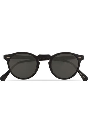 Oliver Peoples Gregory Peck Sunglasses Black/Midnight