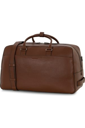 Tiger of Sweden Herre Weekendvesker - Brome Grained Leather Weekendbag Brown