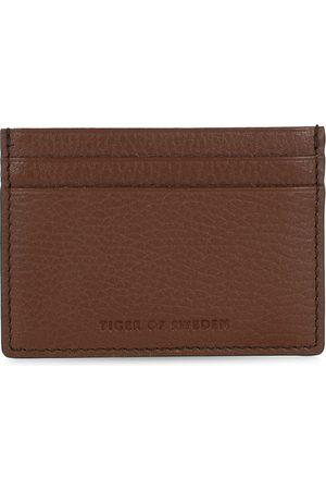 Tiger of Sweden Herre Lommebøker - Wake Grained Leather Cardholder Brown