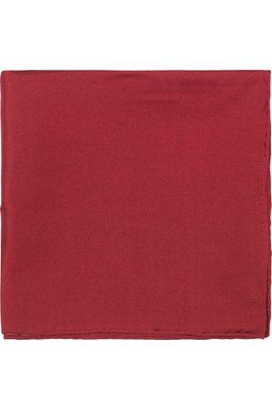 Amanda Christensen Handkercheif Silk Wine Red