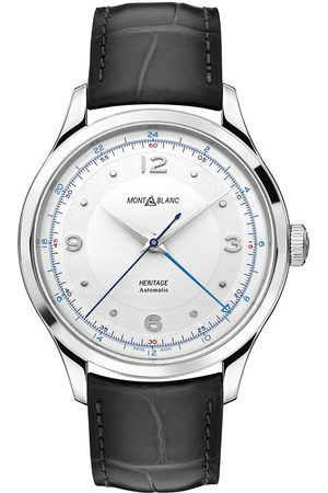 Mont Blanc Heritage Steel Automatic 40mm Silver Dial