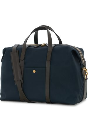Mismo M/S Avail 48h Nylon Weekendbag Navy/Dark Brown