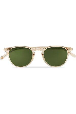 GARRETT LEIGHT Herre Solbriller - Hampton 46 Sunglasses Pure Green