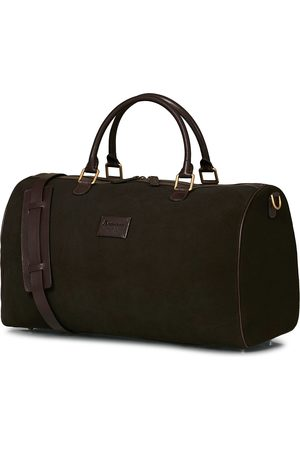 Anderson's Boston Suede Weekendbag Brown/Brown