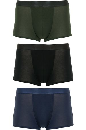 CDLP 3-Pack Boxer Trunk Black/Army Green/Navy