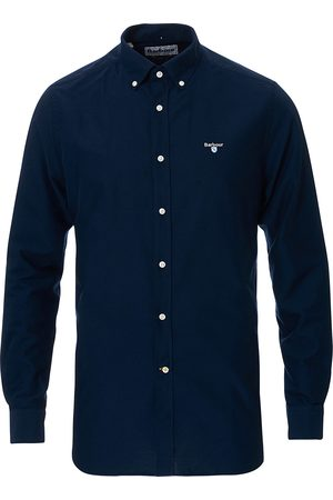 Barbour Tailored Fit Oxford 3 Shirt Navy