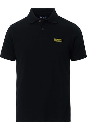 Barbour Essential Polo Black