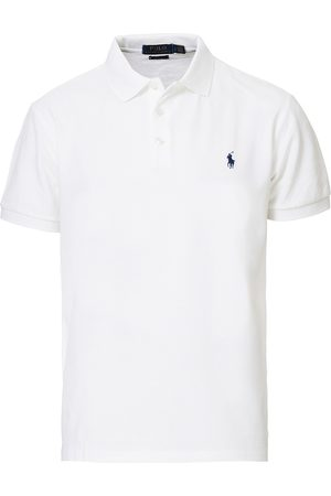 Polo Ralph Lauren Slim Fit Stretch Polo White
