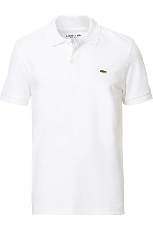 Lacoste Pima Interlock Polo Pique White