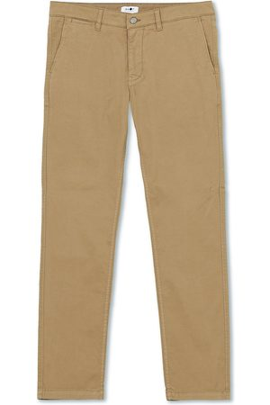 NN.07 Marco Slim Fit Stretch Chinos Green Stone