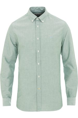 Barbour Tailored Fit Oxford 3 Shirt Green
