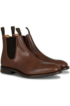 Loake Chatsworth Chelsea Boot Brown Waxy Leather