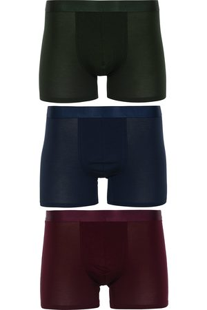 CDLP 3-Pack Boxer Briefs Army Green/Navy Blue/Burgundy