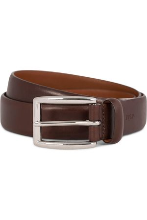 Polo Ralph Lauren Cowhide Belt 3 cm Brown