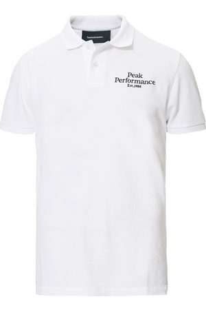 Peak Performance Original Logo Polo White