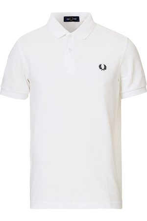 Fred Perry Plain Polo White