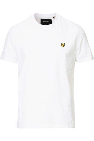 Lyle & Scott Plain Crew Neck Cotton T-Shirt White