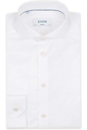 Eton Super Slim Fit Shirt Cutaway White