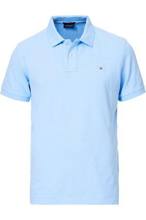 Marine Mercerized Rugger T-Skjorte  Gant  Piqueskjorter - Herreklær er billig