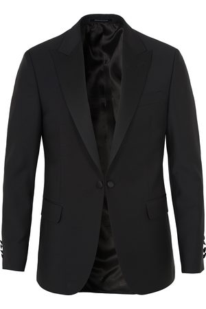 Oscar Jacobson Frampton Tuxedo Jacket Black