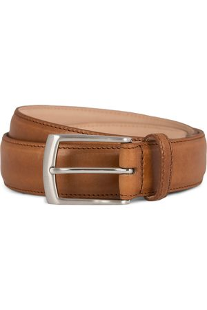 Loake Henry Leather Belt 3,3 cm Tan