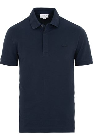 Lacoste Tonal Crocodile Poloshirt Regular Fit Navy