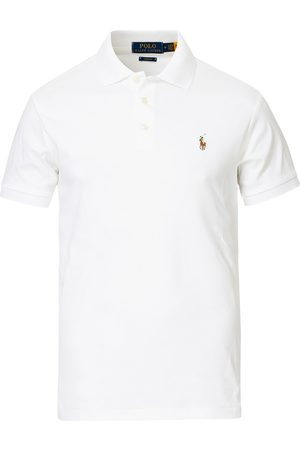 Polo Ralph Lauren Slim Fit Pima Cotton Polo White