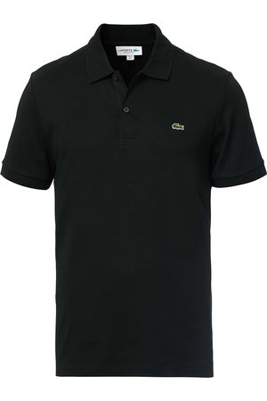 Lacoste Pima Interlock Polo Pique Black
