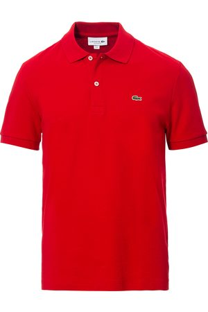 Lacoste Pima Interlock Polo Pique Rouge Red