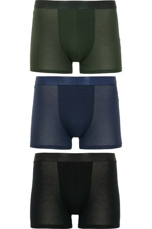CDLP 3-Pack Boxer Briefs Black/Army Green/Navy