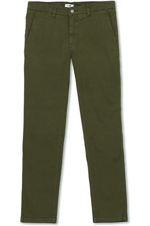 NN.07 Marco Slim Fit Stretch Chinos Army Green
