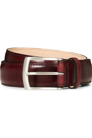 Loake Herre Belter - Henry Leather Belt 3,3 cm Burgundy