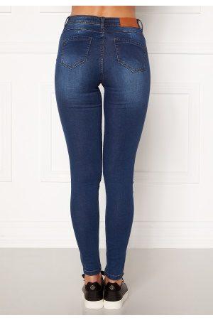 Noisy May Jen NW S.S Shaper Jeans Medium Blue Denim 28/32