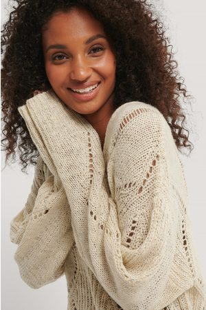 NA-KD Slouchy Pattern Knitted Sweater