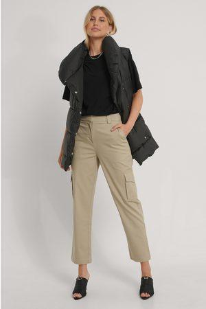 NA-KD Cotton Cargo Pocket Pants