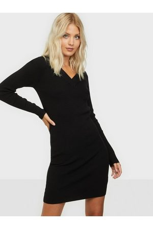 Object Objfae Thess L/S Rib Knit Dress Noo
