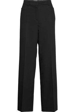 Gerry Weber Dame Bukser - Trousers Cloth Long Bukser Med Rette Ben