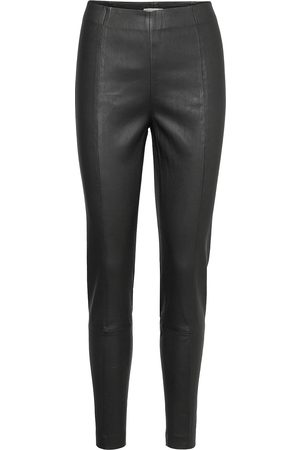 Part Two Tessapw Stretch Pa Tessapw Leather Leggings/Bukser