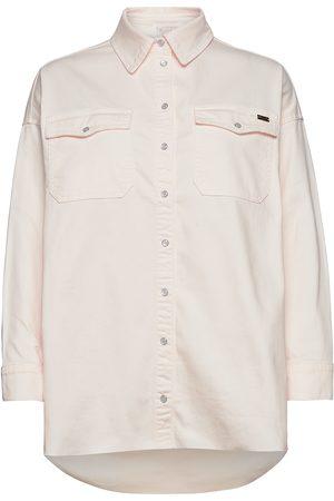 Notes Du Nord Phoenix Denim Shirt Cream Overshirts Creme