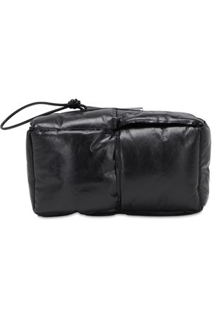 Bottega Veneta Large Padded Intrecciato Leather Pouch