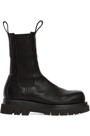 Bottega Veneta Bv Lug High Leather Chelsea Boots