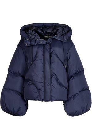 Boohoo Dame Vinterjakker - Oversized Sleeve Hooded Puffer Jacket