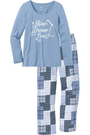 Bonprix Dame Pyjamaser - Pyjamas, økologisk bomull