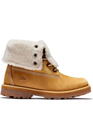 Timberland Kid's Courma Shearling Roll Top