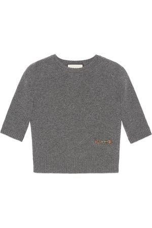 Gucci Cashmere top with Horsebit