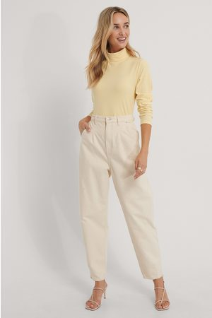 The Fashion Fraction x NA-KD Dame Pologensere - Turtle Neck Top