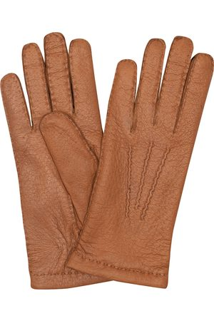 Hestra Peccary Handsewn Cashmere Glove Cognac