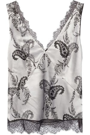 AllSaints 'Nysa' top with lace trims