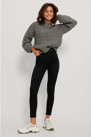NA-KD Skinny High Waist Jeans
